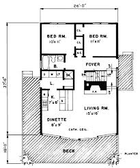 a frame cabin floor plans house plan 43072 order code 00web 1291 sq ft tub on deck and