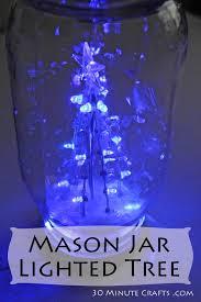 light up snow globe light up snowglobe in a mason jar 30 minute crafts
