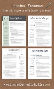 Resume For Someone With One Job by Professionally Designed Resumes With Teachers In Mind Completely