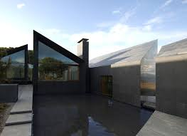 100 concrete roof house plans lawrence architects combines