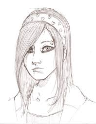 Emo Hairstyles Drawings by Bleeding Heart Emo Ranger By Zatch On Deviantart