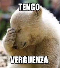 Funny Bear Meme - meme maker tengo verguenza57