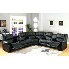Sectional Recliner Sofa With Cup Holders Sectional With Cup Holders Soft Brown Sectional Recliner Sofa With