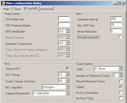 trellis quantization customize x264 profiles with megui page 3 5 the rc and me tab