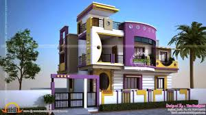 front design of duplex house in india youtube