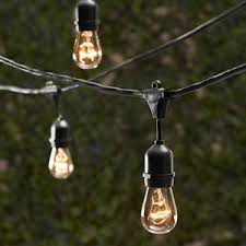 Outdoor Hanging String Lights Outdoor String Lights Hayneedle