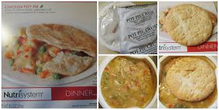 nutrisystem week 27 winner winner chicken pot pie dinner