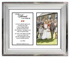 parents wedding gift gifts for parents from or