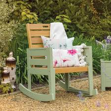 Garden Rocking Bench Verdi Garden Rocking Chair Garden Tables Chairs Cuckooland