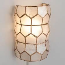 Capiz Vase Capiz Petal Flush Mount Ceiling Light World Market