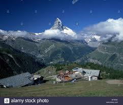 matterhorn and sunnegga restaurant switzerland valais alps