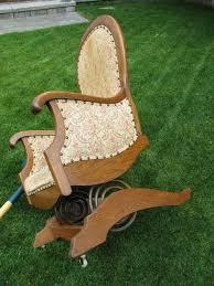 Broken Rocking Chair Platform Or Spring Rocking Chair Collectors Weekly