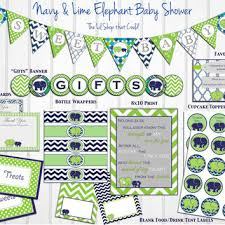 green baby shower decorations shop elephant baby shower party decorations on wanelo