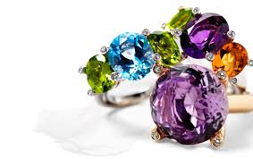 colored gem rings images Colored gems on your wedding day arabia weddings jpg