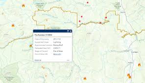 Wildfire Bc Map Interactive by Evacuation Order Expanded In Kluskus Area Due To Wildfire
