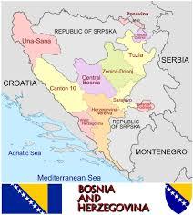 Bosnia Map Bosnia 2013 Census European Parliamentary Research Service Blog
