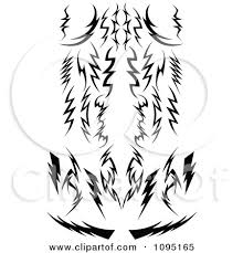 8 best images of black and white tribal designs black and white