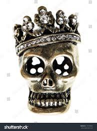 skull halloween background queen king skull crown halloween background stock photo 116709094