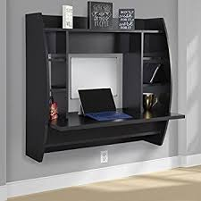 wall mounted desk amazon wall mount computer desk amazon com homcom floating office with