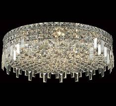 Large Flush Mount Ceiling Light by Maxim Collection 24 U2033 Dia Extra Large Crystal Flush Mount Ceiling