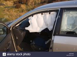 Curtain Airbag Toyota Corolla With Near Side Srs Curtain Airbag Inflated After