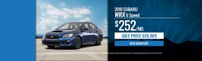 used 2016 subaru wrx complete engines for sale a u0026 t subaru 2017 2018 new u0026 used car dealer sellersville pa
