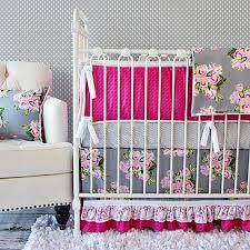 Pink Floral Crib Bedding Caden Vintage Floral Crib Bedding Collection Bed Bath Beyond