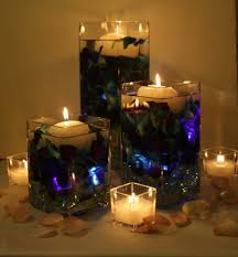 fun rooms luxury christmas center pieces table with glass candle