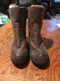 womens shearling boots size 11 mossimo womens emily shearling style ankle boots size 11 euc ebay