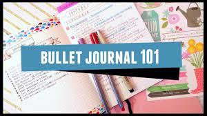 Bullet Journaling by Bullet Journal 101 Youtube
