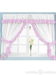 Pink Gingham Curtains Gingham Check Pink White Kitchen Curtain Curtains Uk