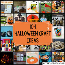 104 halloween craft ideas a little craft in your day