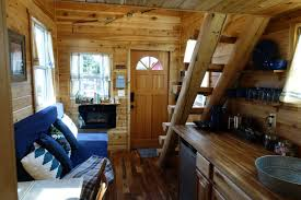Tiny House Cabin by Tiny Log Cabin On Wheels Is Available For Rent In Portland Oregon