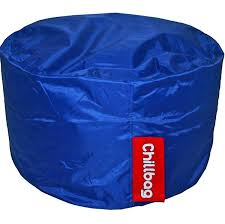 chillbag beanbag red footstool chill bags waterford chill bag