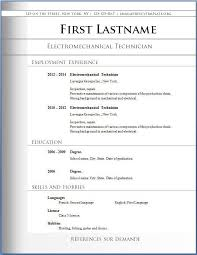 best free resume templates word 20 best free resume templates