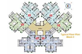 Msg Floor Plan by The Grand Residency Flats For Sale In The Grand Residency At