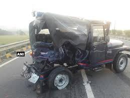 indian police jeep uttar pradesh chief minister yogi adityanath met union home