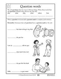 bunch ideas of wh questions worksheets for grade 1 for your layout