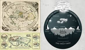 Flat Map Of The World The Atlantean Conspiracy The Flat Earth Conspiracy