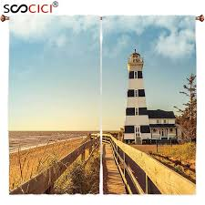 Lighthouse Window Curtains Lovable Lighthouse Window Curtains Inspiration With Compare Prices