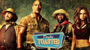 jumanji movie description jumanji welcome to the jungle movie review double toasted review