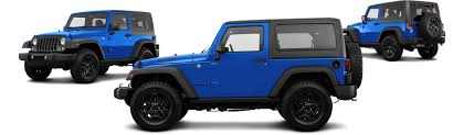 jeep rubicon blue 2016 jeep wrangler 4x4 black bear 2dr suv research groovecar