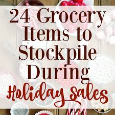 24 grocery items to stockpile during sales graceful