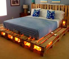 Bed Frames Cheap Creative Diy Pallet Ideas Cheap Recycled Beds Frames