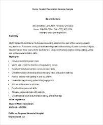 nursing student resume sample tips for student nurse resume