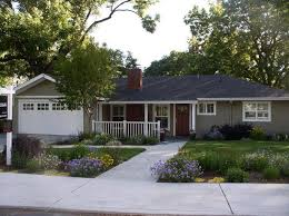 exterior house color schemes with stone driveway house design