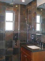 bathroom slate tile ideas home remodeling design kitchen bathroom design ideas vista
