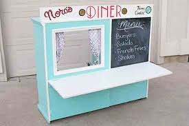 tv cabinet kids kitchen diy play kitchens for the kids plaid online