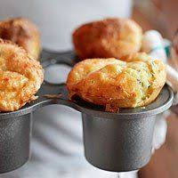 cheddar cheese and chive popovers recipe popover recipe