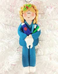 dental hygienist gift dental hygienist ornament